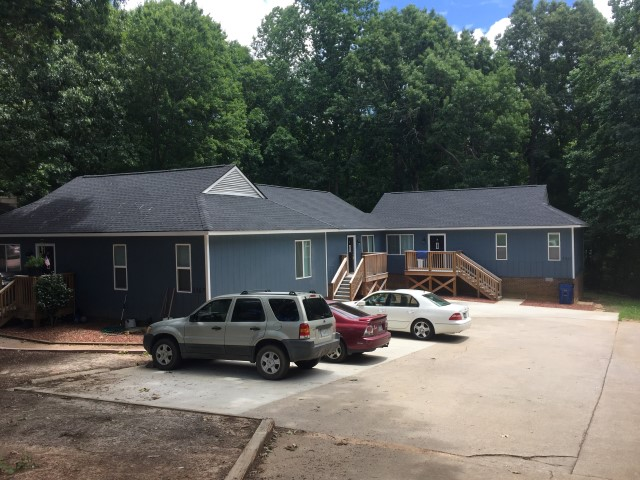 West Raleigh Triplex Wayne Street Deaton Investment